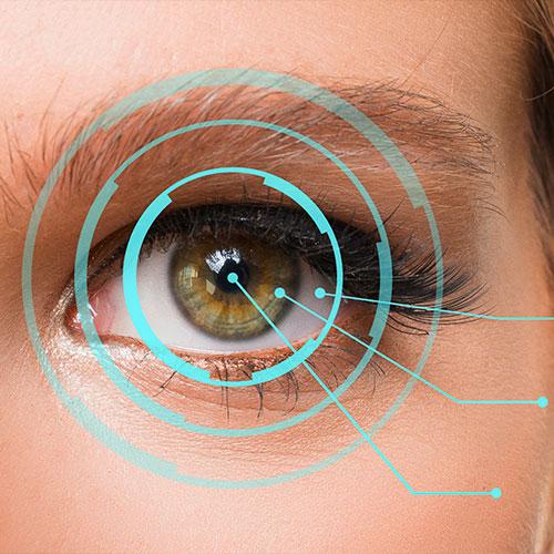 Consulta de oftalmología general